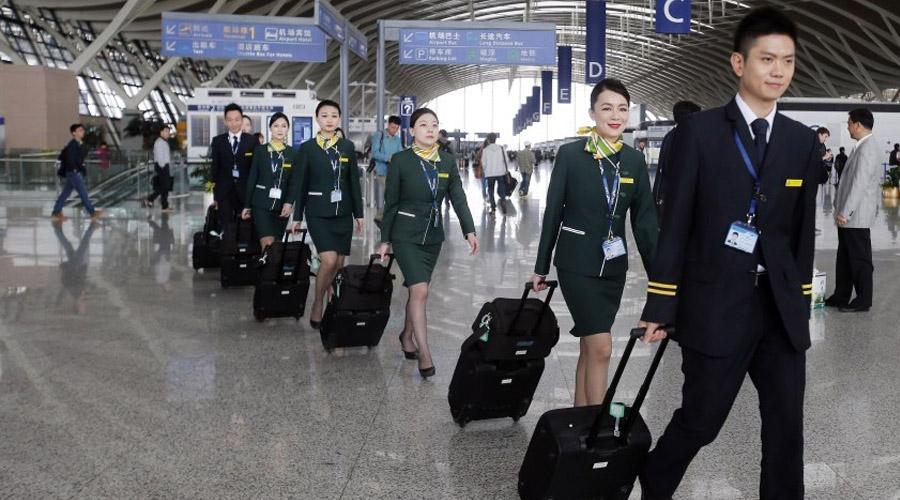 春秋航空安全员兼乘务学员招聘(2017年度)
